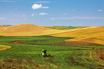 North America Washington Palouse Poster by Terry Eggers