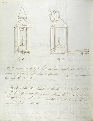 Notes On Davy Safety Lamp Poster