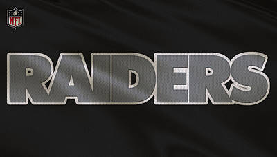 Oakland Raiders Uniform Poster