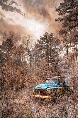 Old Chevy Poster by Debra and Dave Vanderlaan