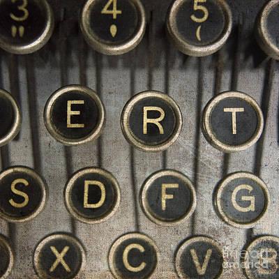 Old Typewrater Poster