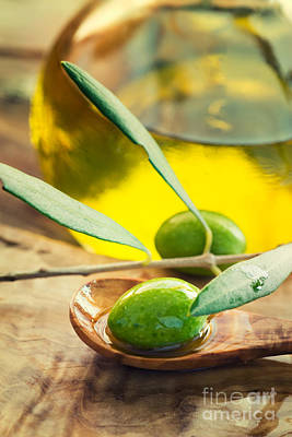 Olive Oil Poster by Mythja  Photography