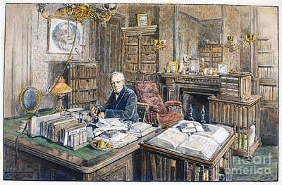 Oliver Wendell Holmes Poster by Granger