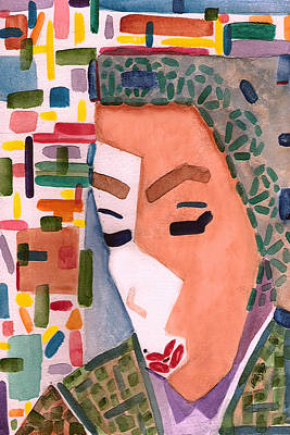Poster featuring the painting One Ringy Dingy by Paula Ayers