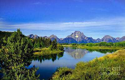Oxbow Bend Poster by Robert Bales