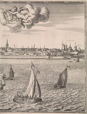 Panorama Of Rotterdam, The Netherlands, Jan Houwens Poster