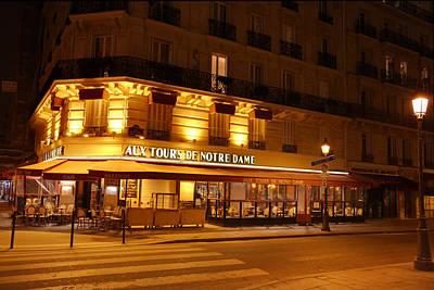 Paris France - Notre Dame De Paris - 01139 Poster by DC Photographer