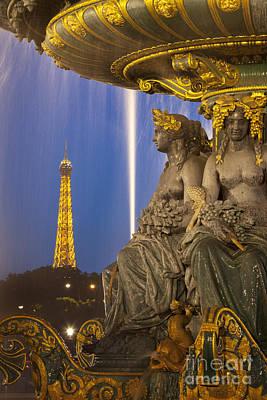 Paris Twilight Poster by Brian Jannsen