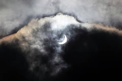 Partial Solar Eclipse Poster by Laurent Laveder