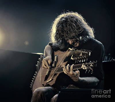Pat Metheny Poster by Michel Verhoef