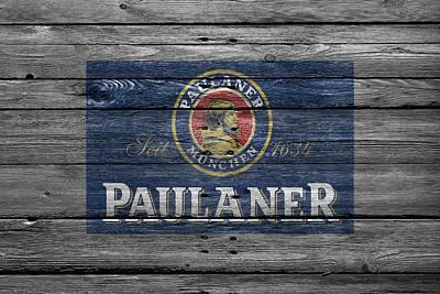 Paulaner Poster by Joe Hamilton