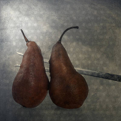 Pears Poster by Joana Kruse