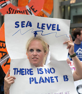 People's Climate March Poster by Jim West