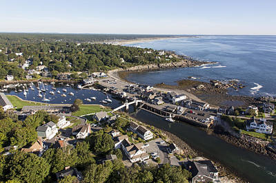 Perkins Cove, Ogunquit Poster by Dave Cleaveland