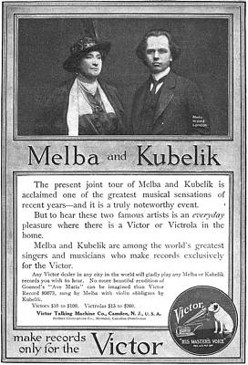Phonograph Ad, 1914 Poster