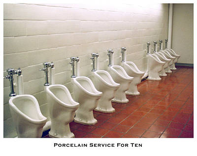 Porcelain Service For Ten Poster by Lorenzo Laiken