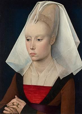Portrait Of A Lady Poster by Rogier van der Weyden