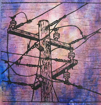 Power Lines Poster