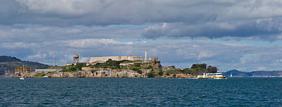 Prison On An Island, Alcatraz Island Poster by Panoramic Images