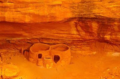 Pueblo Indian Ruins  Poster by Jeff Swan