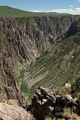 Pulpit Rock Overlook Black Canyon Of The Gunnison Poster