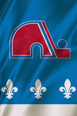Quebec Nordiques Poster by Joe Hamilton