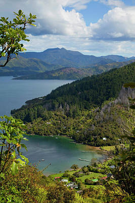 Queen Charlotte Track, Marlborough Poster
