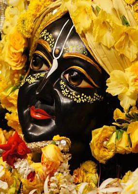 Radha Krishna Idol Hinduism Religion Religious Spiritual Yoga Meditation Deco Navinjoshi  Rights Man Poster