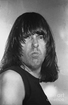Ramones - Johnny Ramone Poster by Concert Photos