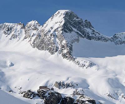 Reichenspitze Mountain Range Poster by Martin Zwick