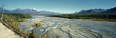 River Passing Through Mountains Poster by Panoramic Images