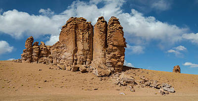 Rock Formations In The Pacana Guardians Poster by Panoramic Images