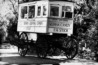 Roman Candy - Bw Poster