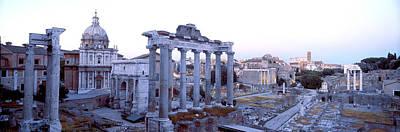Roman Forum Rome Italy Poster