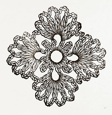 Rosette, Needlework Poster by Litz Collection