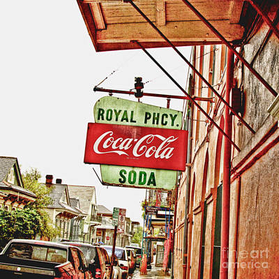 Royal Pharmacy Soda Sign Poster by Scott Pellegrin