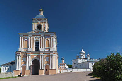Russia, Novgorod Oblast, Veliky Poster by Walter Bibikow