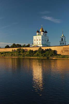 Russia, Pskovskaya Oblast, Pskov Poster by Walter Bibikow