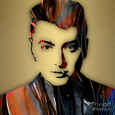 Sam Smith Collection Poster by Marvin Blaine