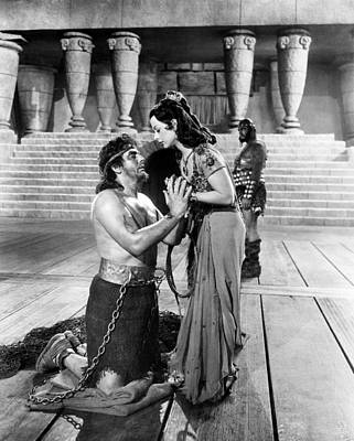 Samson And Delilah, From Left, Victor Poster