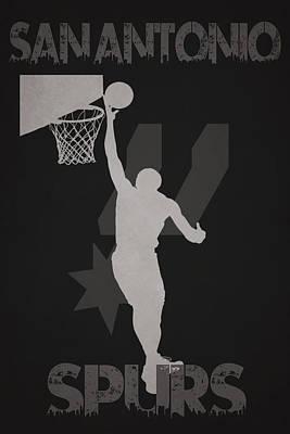 San Antonio Spurs Poster