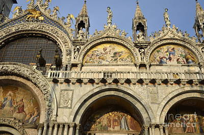 San Marco Basilica Poster by Sami Sarkis