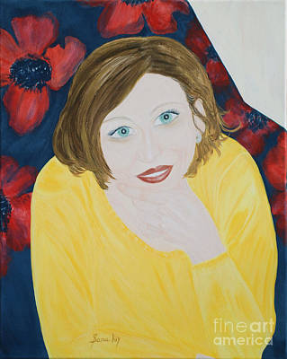 Sana. Inspirations Collection. Poster by Oksana Semenchenko