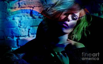 Scarlett Johansson Poster by Marvin Blaine
