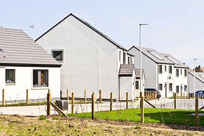 Scottish Houses Poster