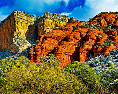 Sedona Arizona - Wilderness Area Poster by Bob and Nadine Johnston