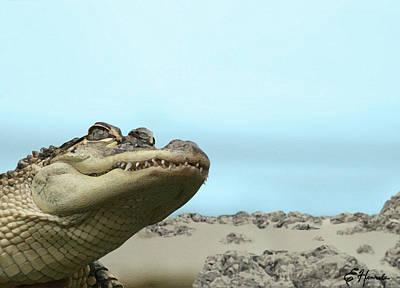 See You Later Alligator Poster by Ellen Henneke