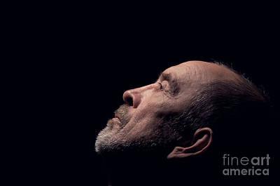 Senior In Depression Horisontal Poster by Aleksey Tugolukov