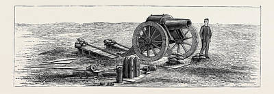Siege Guns And Earthworks Poster