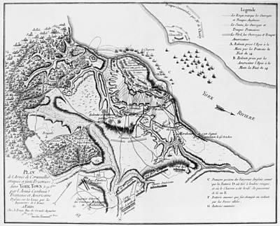 Siege Of Yorktown, 1781 Poster by Granger